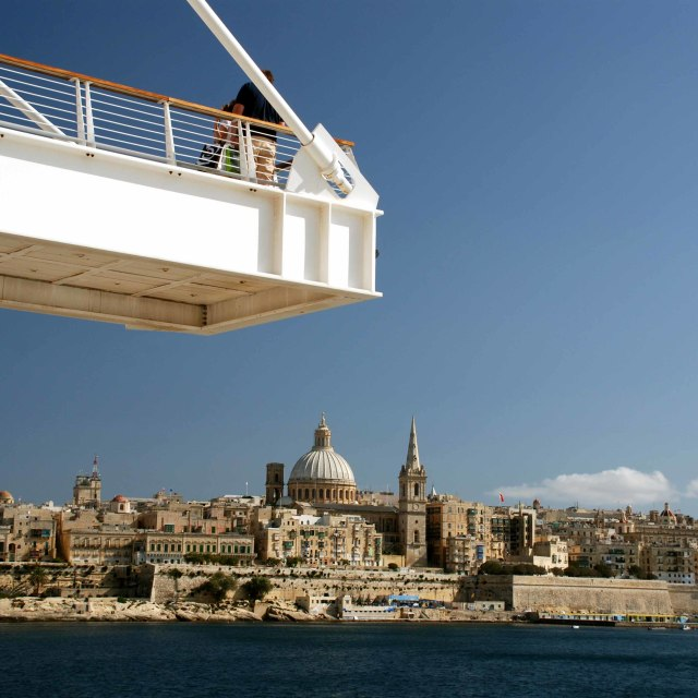 """better view of Valletta, Malta"" stock image"