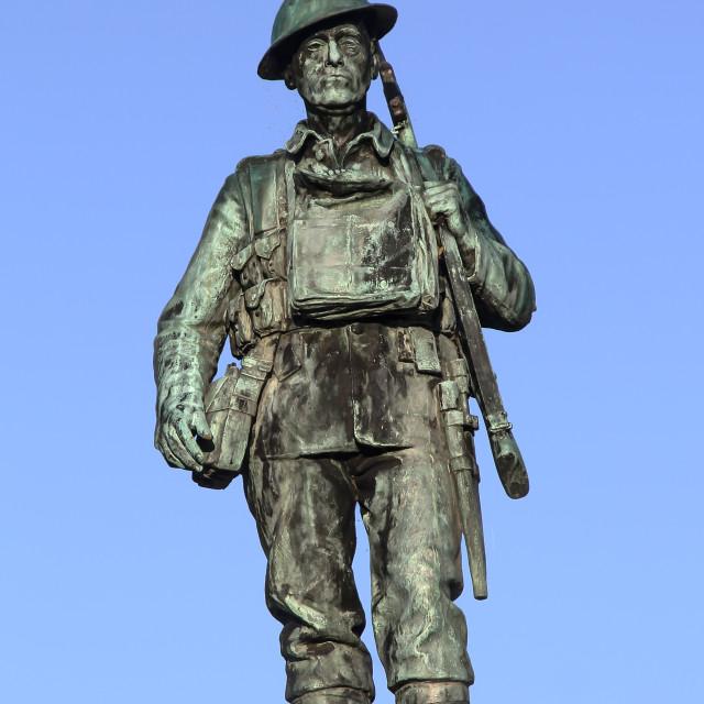 """War Memorial, Evesham"" stock image"
