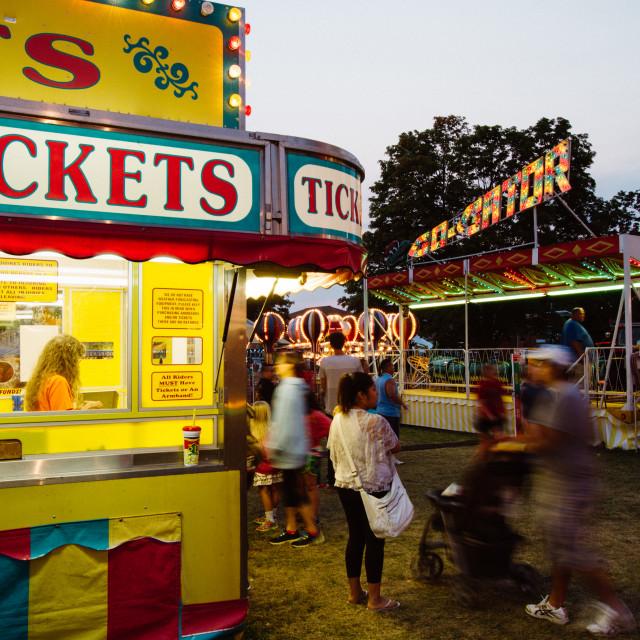 """Green County Fair"" stock image"