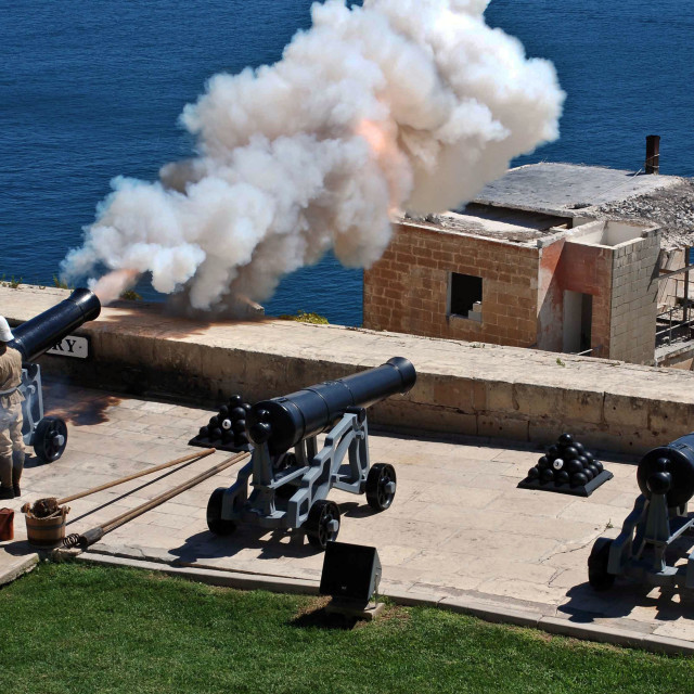 """ceremonial canon firing"" stock image"