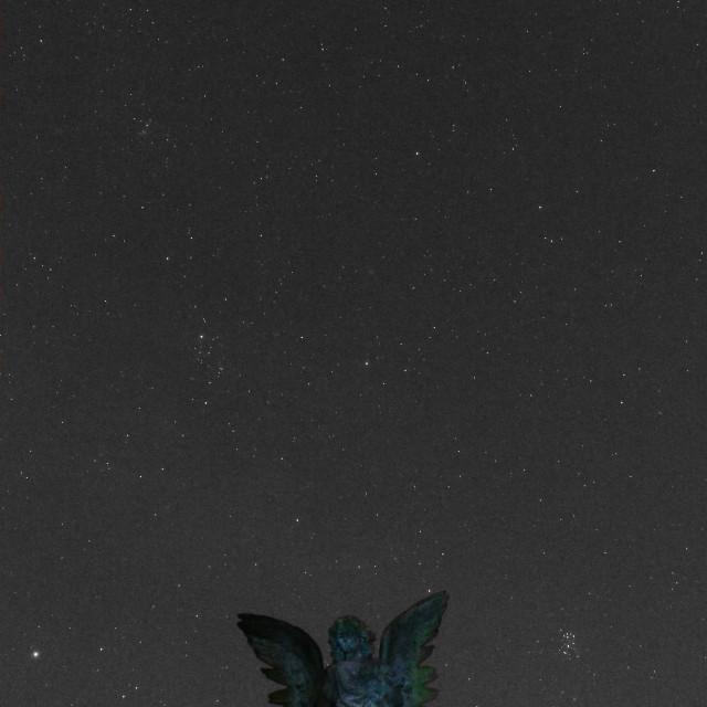 """The Angel Of Greenbank"" stock image"