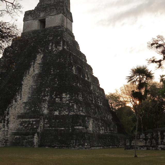 """""""Temple I, Tikal National Park, Guatemala"""" stock image"""