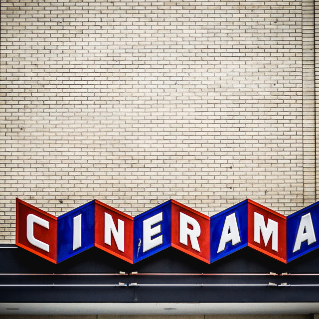"""Cinerama"" stock image"