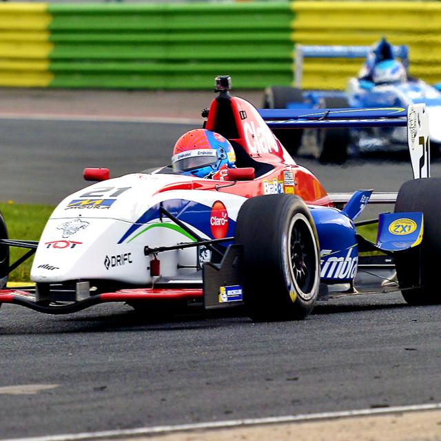 """Formula Renault Motor Racing"" stock image"