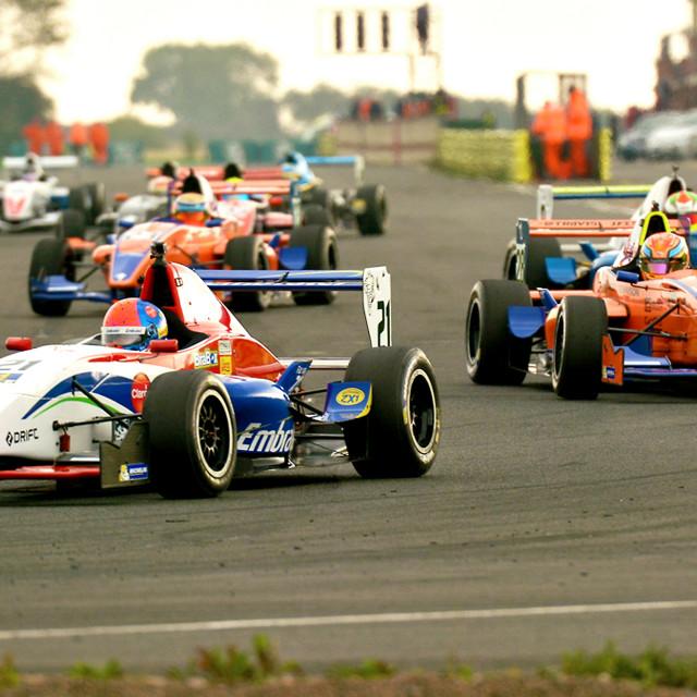 """Motor Racing, Formula Renault"" stock image"
