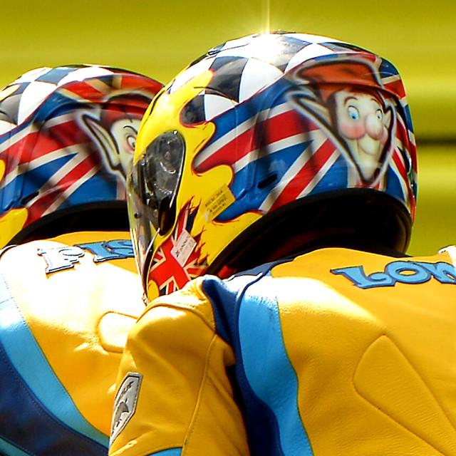 """F1 Sidecar Motor Racing"" stock image"