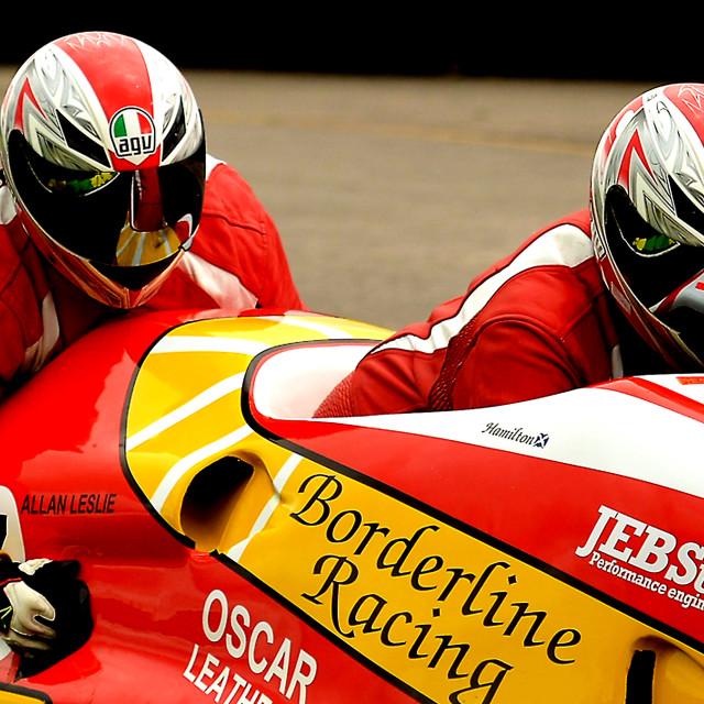 """""""F1 British Sidecar Championship"""" stock image"""