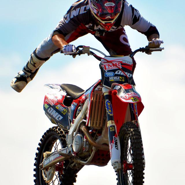 """Super Motorcross Display"" stock image"