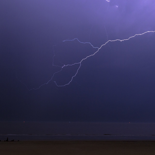 """""""Lightning Fingers"""" stock image"""