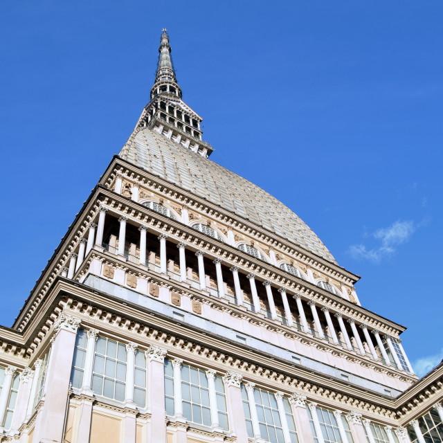 """Turin - Mole Antonelliana"" stock image"
