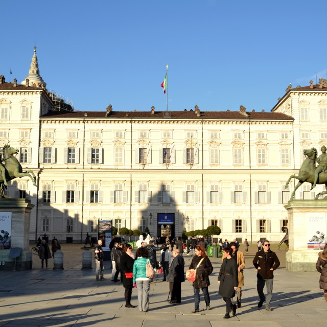 """Turin - Royal Palace"" stock image"