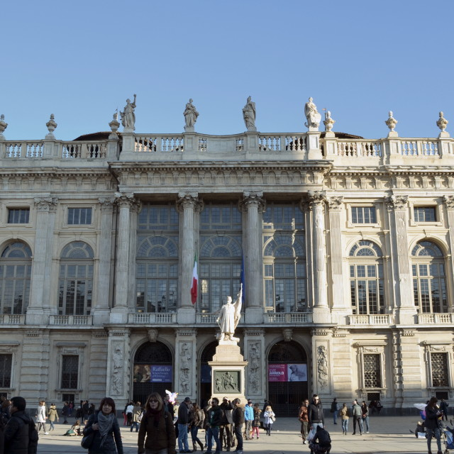 """Turin - Palazzo Madama"" stock image"