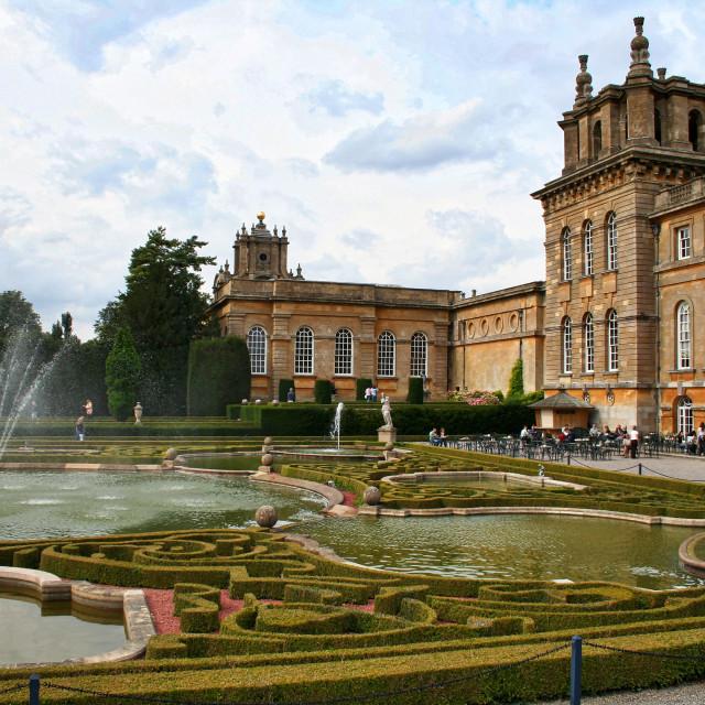 """Blenheim Palace"" stock image"