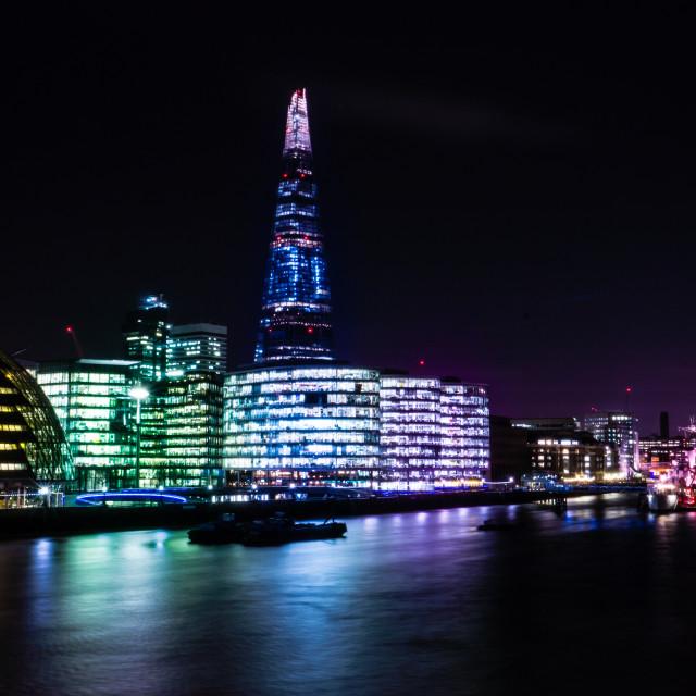 """Rainbow London"" stock image"