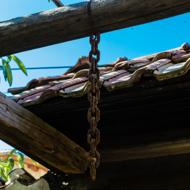 """Rust & wood"" stock image"