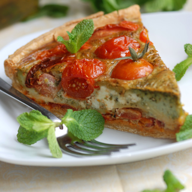 """Quiche"" stock image"