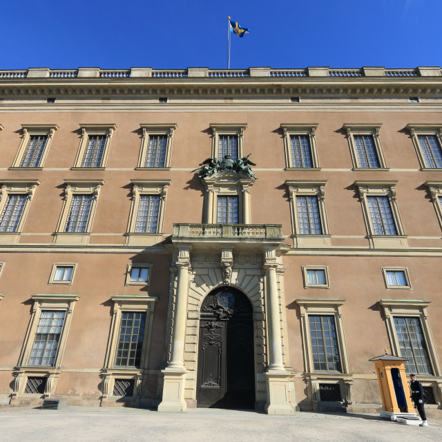 """Royal Palace Exterior, Stockholm"" stock image"