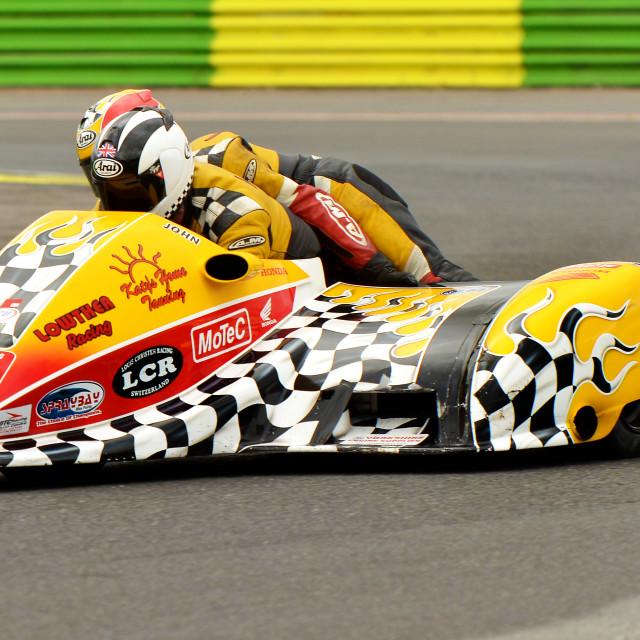"""F1 Sidecar"" stock image"