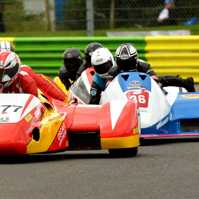 """F1 Sidecar Championship"" stock image"