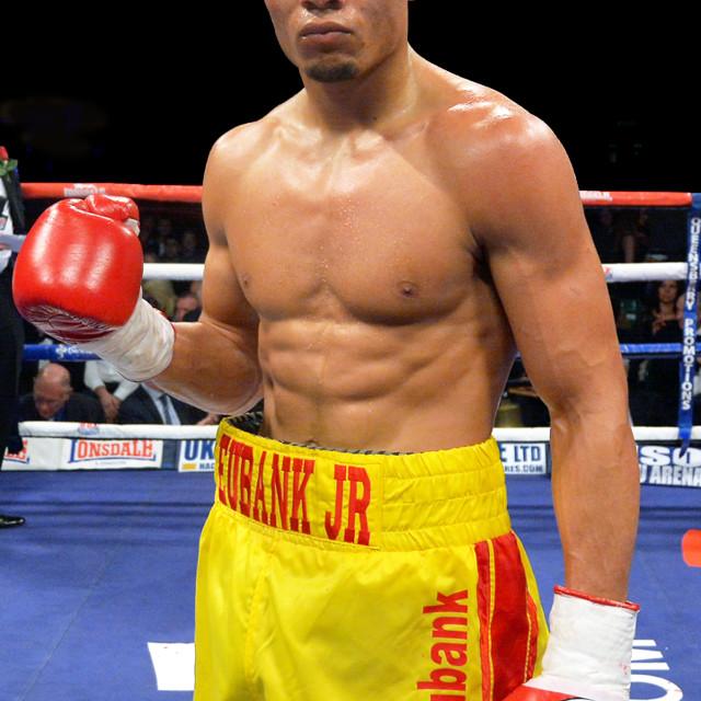 """Boxer Chris Eubanks JR"" stock image"