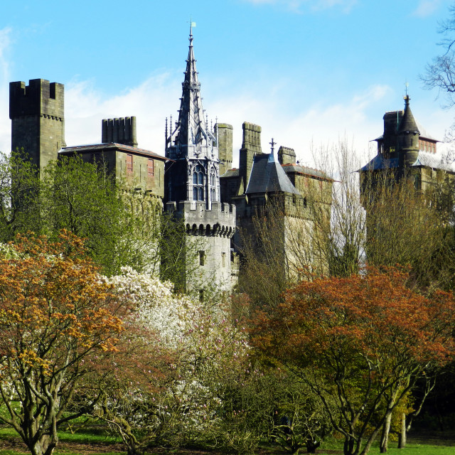 """""""Cardiff, Gales"""" stock image"""