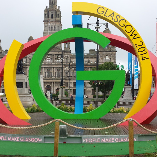 """Glasgow 2014 Commonwealth Games"" stock image"