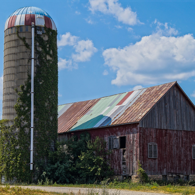 """""""This Old Barn"""" stock image"""