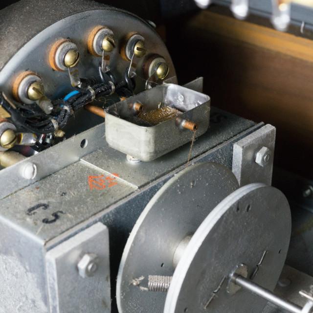 """""""Hammond Run Motor and Vibrato Scanner"""" stock image"""