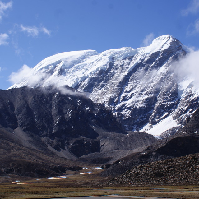"""""""Mighty peaks of Himalayas"""" stock image"""