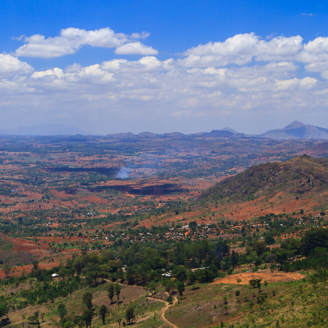 """Rural Malawi"" stock image"