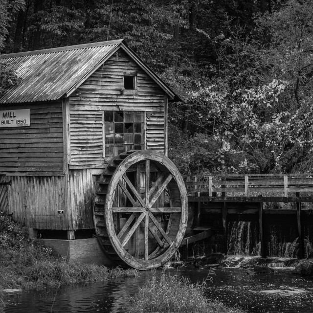 """The Old Mill"" stock image"