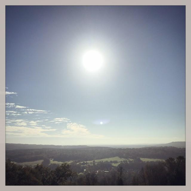 """Mid Winter Sunshine"" stock image"