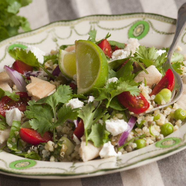 """Middle Eastern Salad"" stock image"