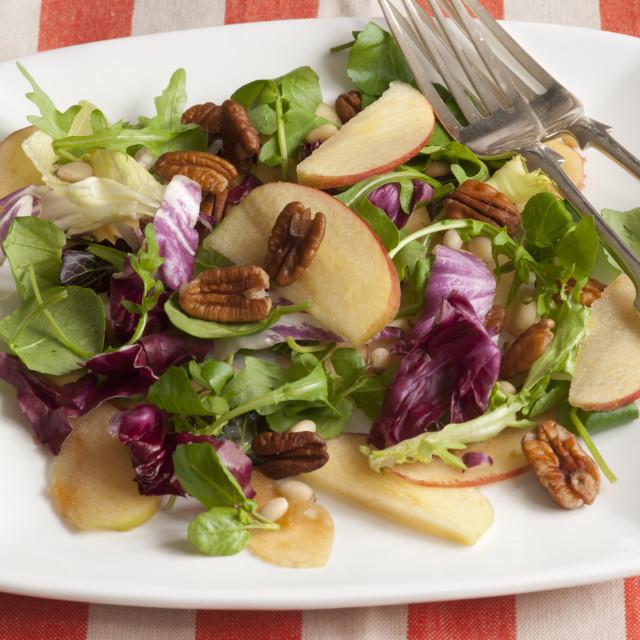 """""""Mixed salad"""" stock image"""