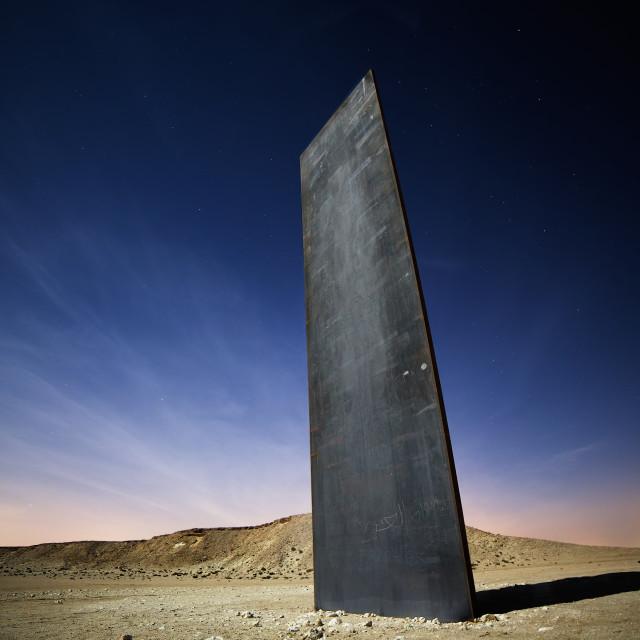 """""""Stoic Monolith"""" stock image"""