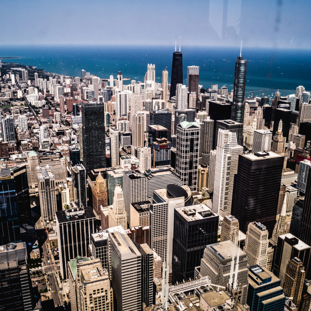 """""""My Kind Of Town, Chicago is..."""" stock image"""