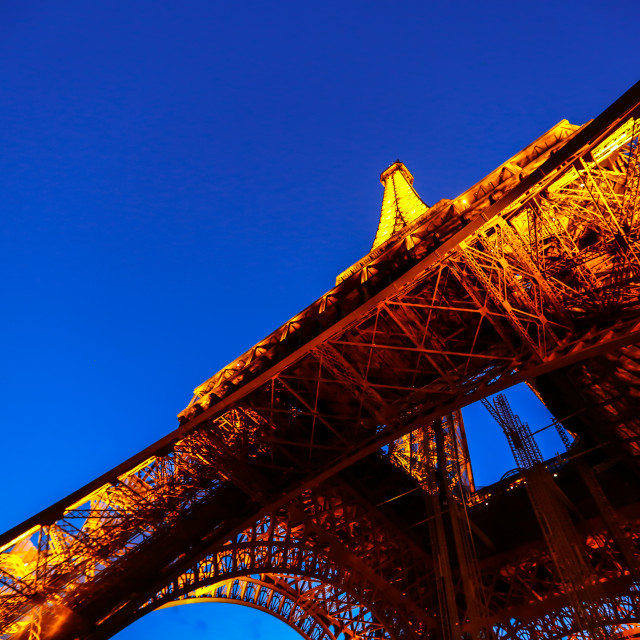 """The Eiffel Tower"" stock image"