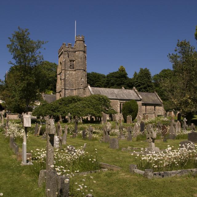 """Village Church"" stock image"