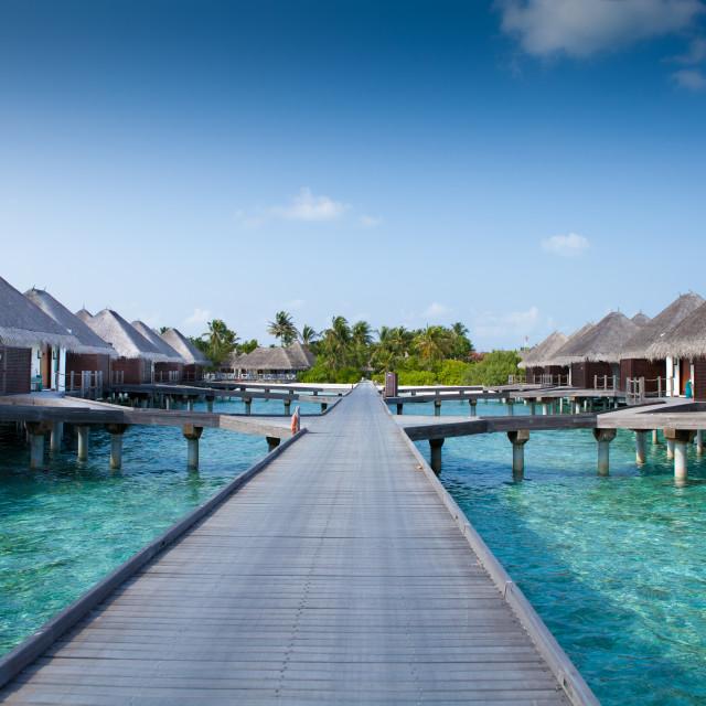 """""""4 Seasons - Kuda Huraa - Maldives"""" stock image"""
