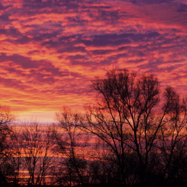 """Sunrise December 2014"" stock image"