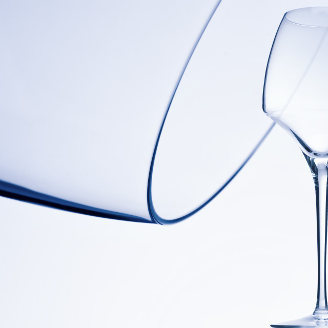 """Wine Glass"" stock image"