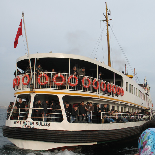 """""""Istanbul - Ferry"""" stock image"""