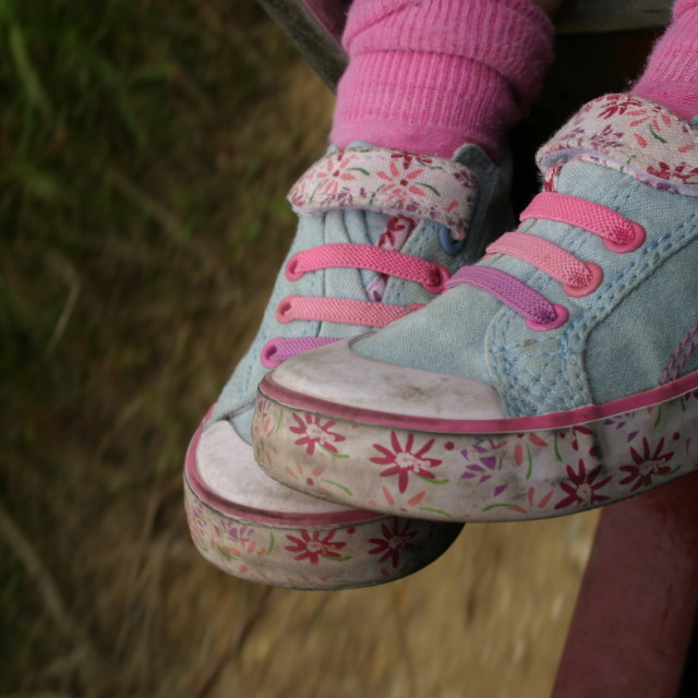 """""""Sophie's shoes"""" stock image"""