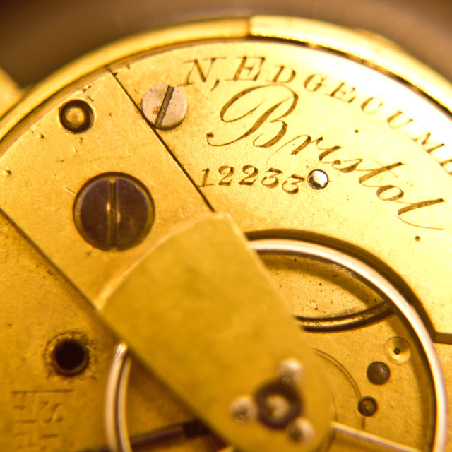 """""""Old pocket watch"""" stock image"""