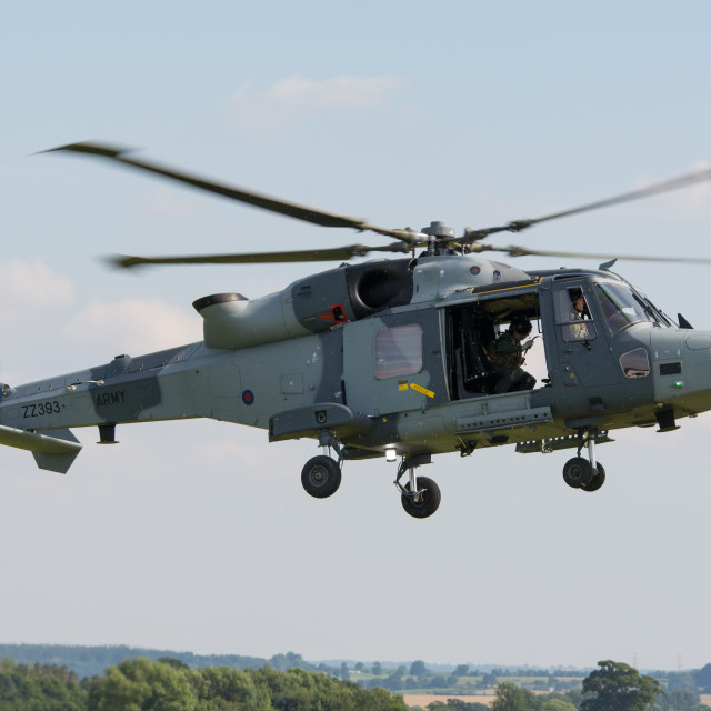 """British Army Wildcat"" stock image"