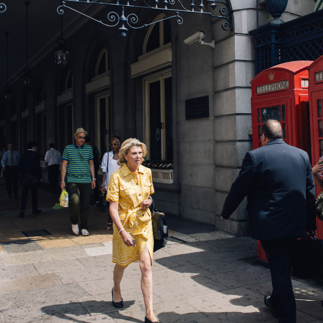"""""""On Piccadilly"""" stock image"""