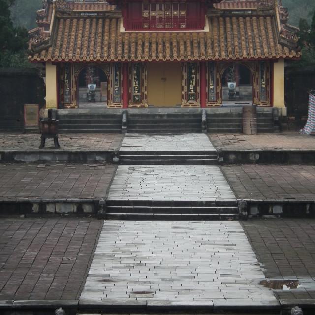 """Hue Mausoleum"" stock image"