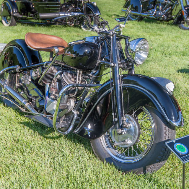 """1948 Indian Chief"" stock image"