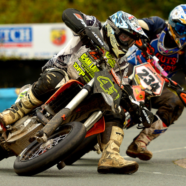 """British Motor Cross"" stock image"