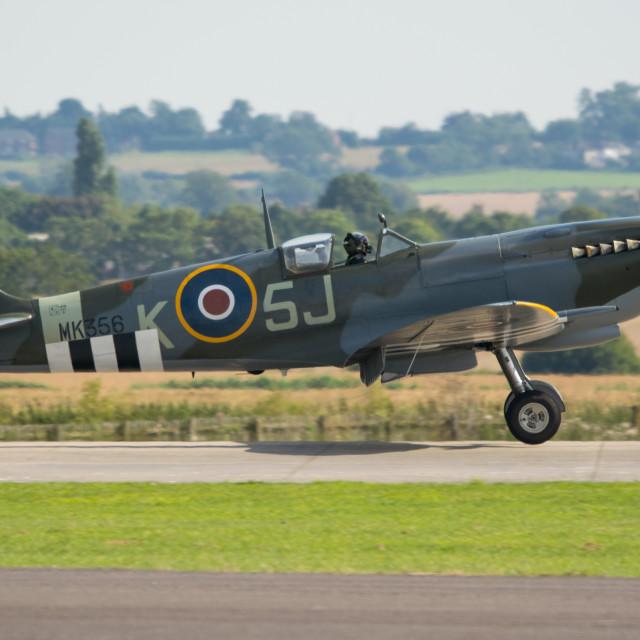 """Spitfire Mk LFIX"" stock image"